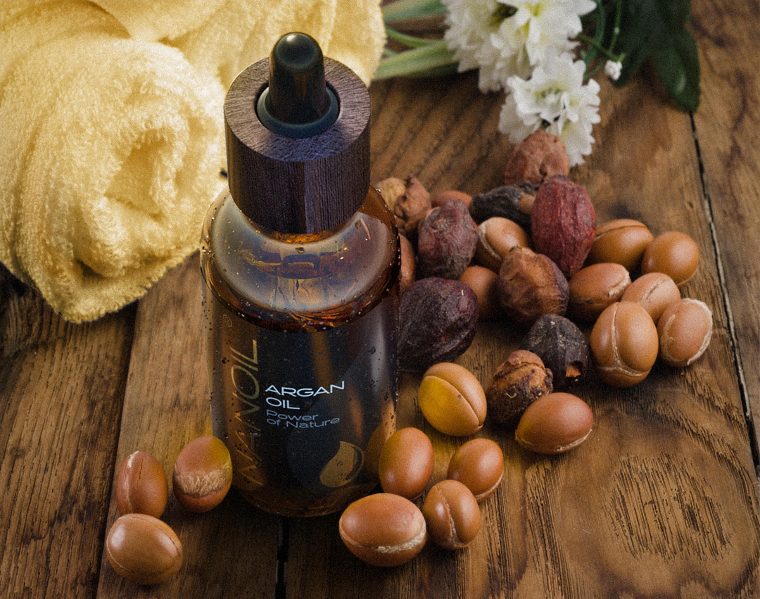 Arganöl von Nanoil für schöne Haare